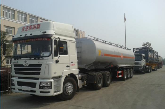 42000 Liters carbon steel fuel tank semi-trailer