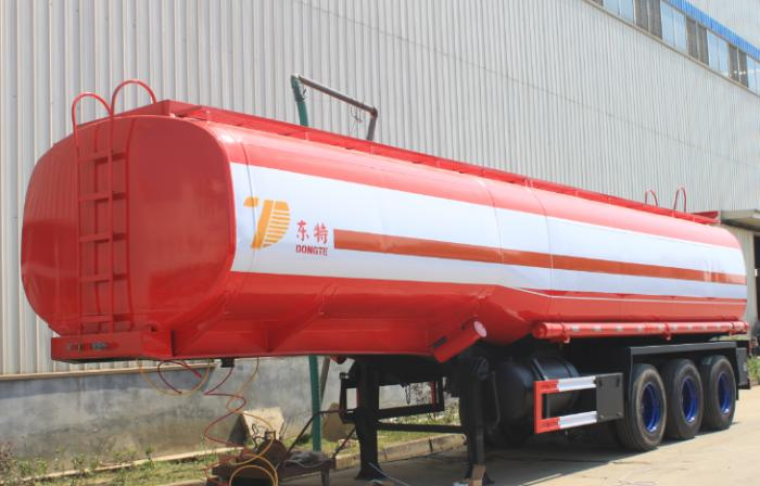 45000 Liters steel fuel tank semi-trailer