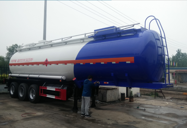 3 axle 45CBM Methanol tank semi-trailer
