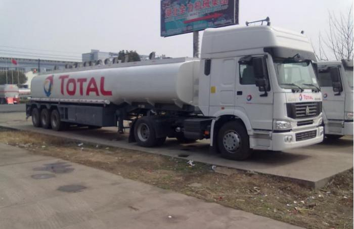 40000 Liters ADR fuel tanker trailer