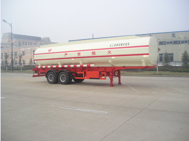 2 axle 35,000 Liters ammonium hydroxide tank semi-trailer