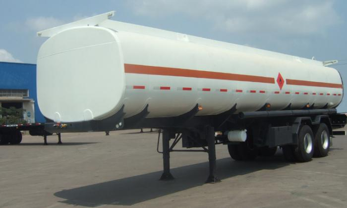 32,000 liters 2 axle diesel tank semi-trailer