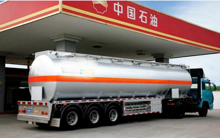 UN ADR 40000 liters fuel tank semi-trailer