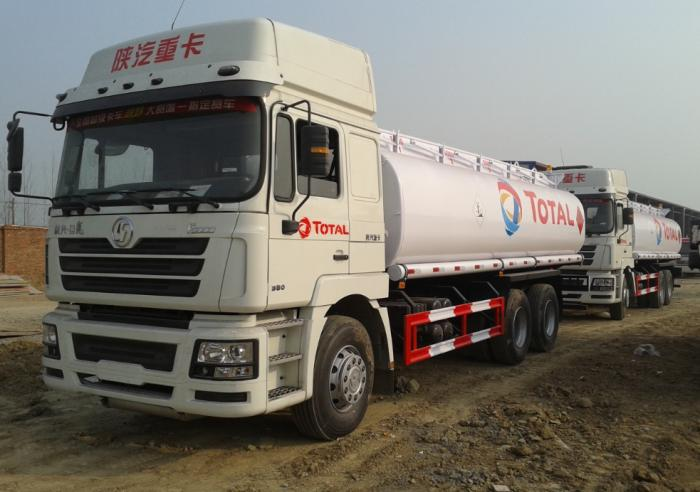 SHACMAN 25000 Liters ADR fuel tank truck