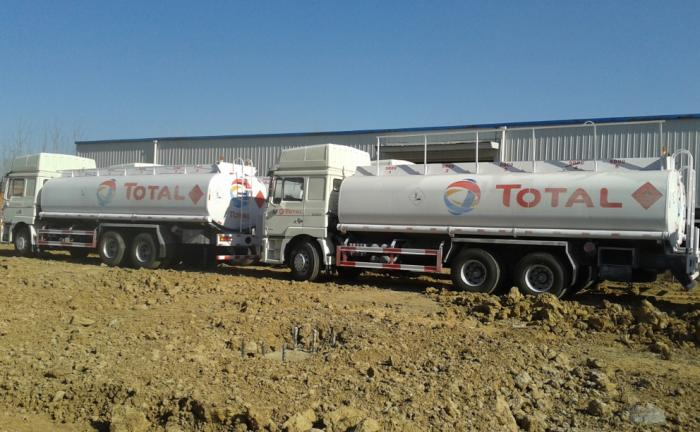 SHACMAN 25000 Liters Fuel Tanker Truck
