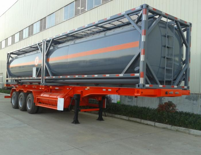 40FT tank container for H2SO4