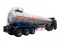 China supplier 3 axles ethylene oxide tanker trailer