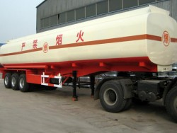 Heavy duty 50000 liters tri-axle petrol tanker trailer