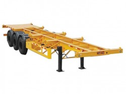 40 ft skeleton trailer 3 axles container trailer