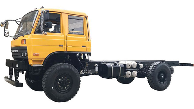 4×4 Truck with Two Doors