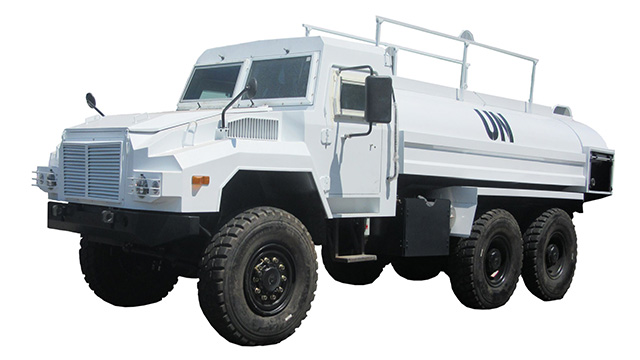 6×6 off road Water Delivery truck for United Nations