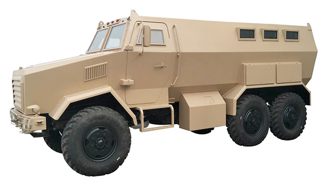 6×6 Off Road Armoured Troops Carry Vehicle