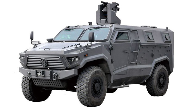 "4×4 ""Mengshi"" Armoured Vehicle"
